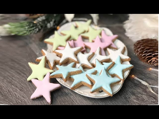 Biscotti Di Natale Zimtsterne.Senza Farina E Senza Burro Biscotti Di Natale Ricetta Facile E Veloce Youtube