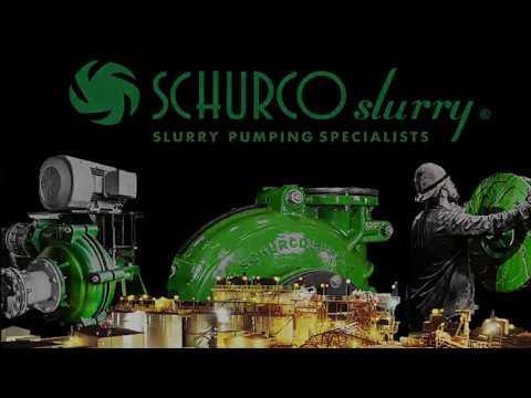 Schurco Slurry, Heavy Duty Slurry Pump Manufacturer