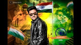 PicsArt 26 January Happy Republic Day 2019 Photo Editing tutorial in picsart Step by Step