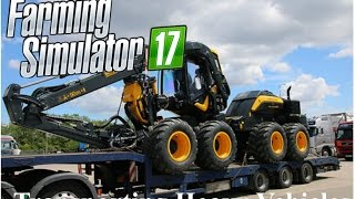New Farming Simulator 2017- Transporting Heavy Equipment