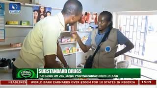Authorities Seals Off Over 280 Illegal Drugstores In Kogi |News Across Nigeria|