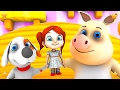 Chubby Cheeks | Kids Nursery Rhymes Collection | 3d Kindergarten Baby Songs By Little Treehouse video