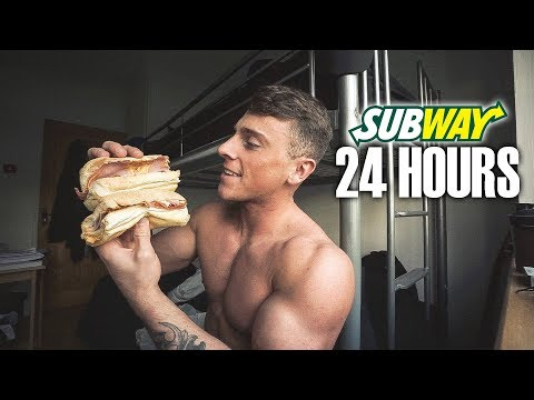 ONLY EATING SUBWAY FOR 24 HOURS... *THE RESULTS*