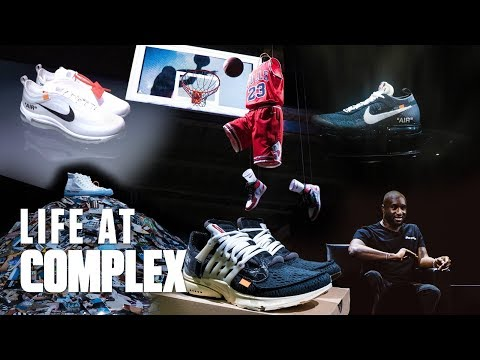 """NIKE """"OFF CAMPUS"""" NYC - VIRGIL ABLOH 