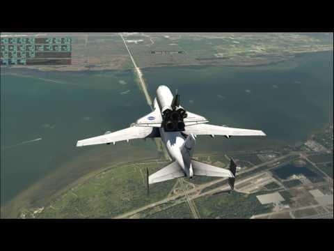 X-Plane 11 - Cape Canaveral Tour