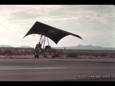 F 1213 Ryan Aeronautical Flexwing Air Cargo Glider