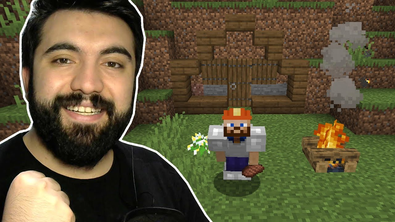 EFSANE SEED, EFSANE YENİ SEZON!   Minecraft: Modsuz Survival   S5 Bölüm 1