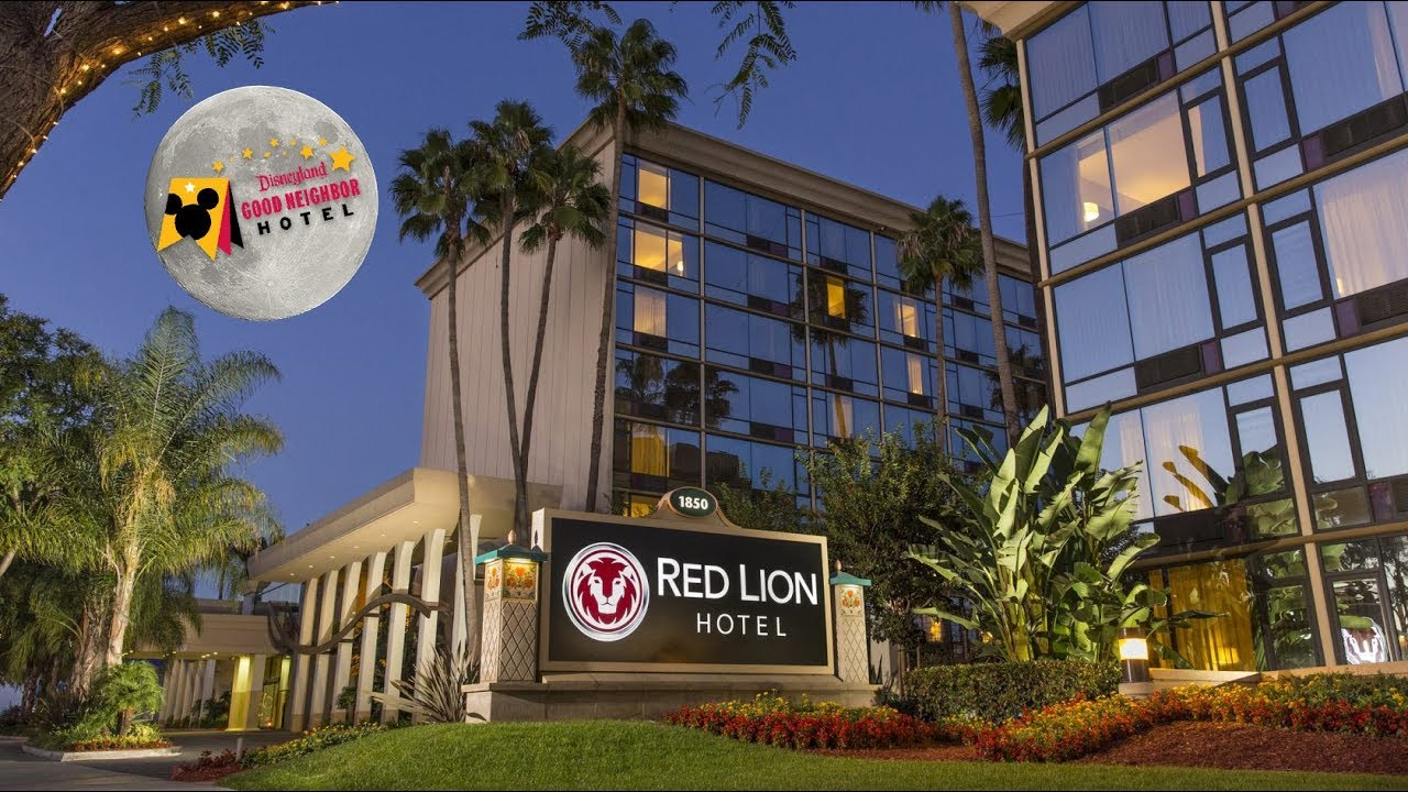 Red Lion Hotel Anaheim Resort Harbor Blvd California Usa