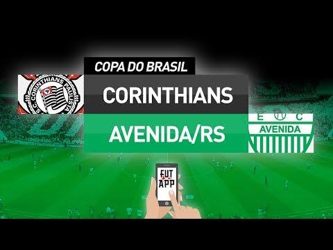 0037294b9e CORINTHIANS 4X2 AVENIDA - AO VIVO (COPA DO BRASIL 2019) - YouTube
