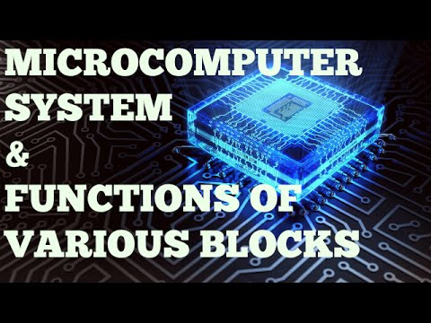 MICROPROCESSOR |  PART-1 | MICROCOMPUTER SYSTEM AND FUNCTION OF VARIOUS BLOCKS |  BSNL JE (TTA)| JTO
