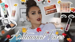 MY TOP FALL MAKEUP PRODUCTS 2018