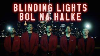 Blinding Lights / Bol Na Halke - Penn Masala Cover (The Weeknd | Rahat Fateh Ali Khan)