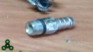 Ремонт радиатора (пароотводящий штуцер)