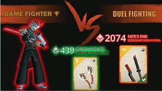 Duel Fighting | Legendary KATANA FATES END & THROWING AXES | Shadow Fight 3 √