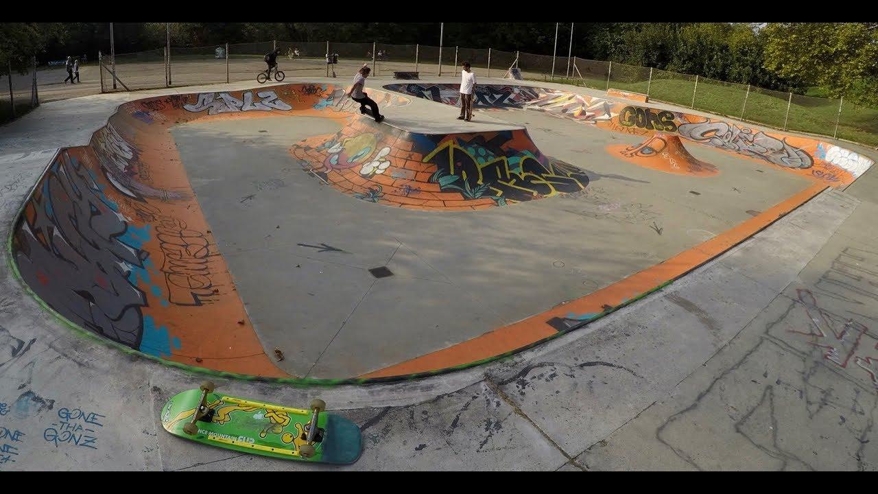 94de3982 Parco Lambro Skatepark - Best surf in Milan - YouTube