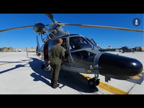 French Navy Hyères Naval Air Base - AS365 Dauphin SAR Helicopter