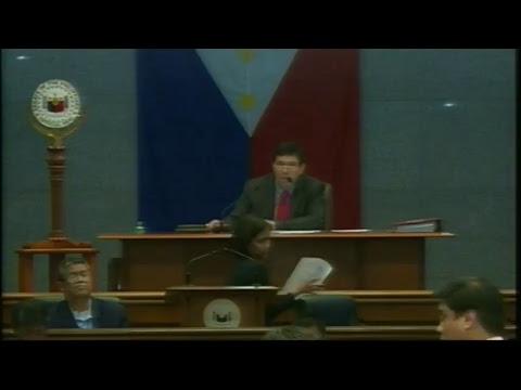 Senate Session No.28 (October 3, 2017)