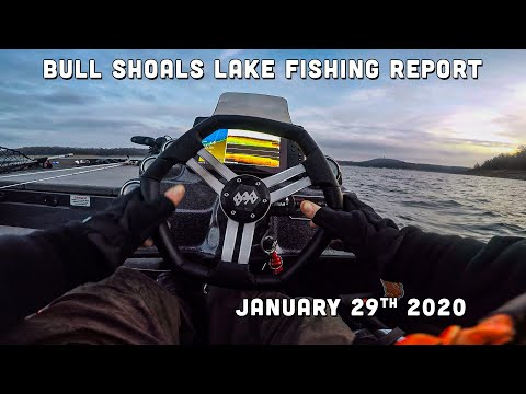 Bull Shoals Lake Fishing Report | Late January | Del Colvin