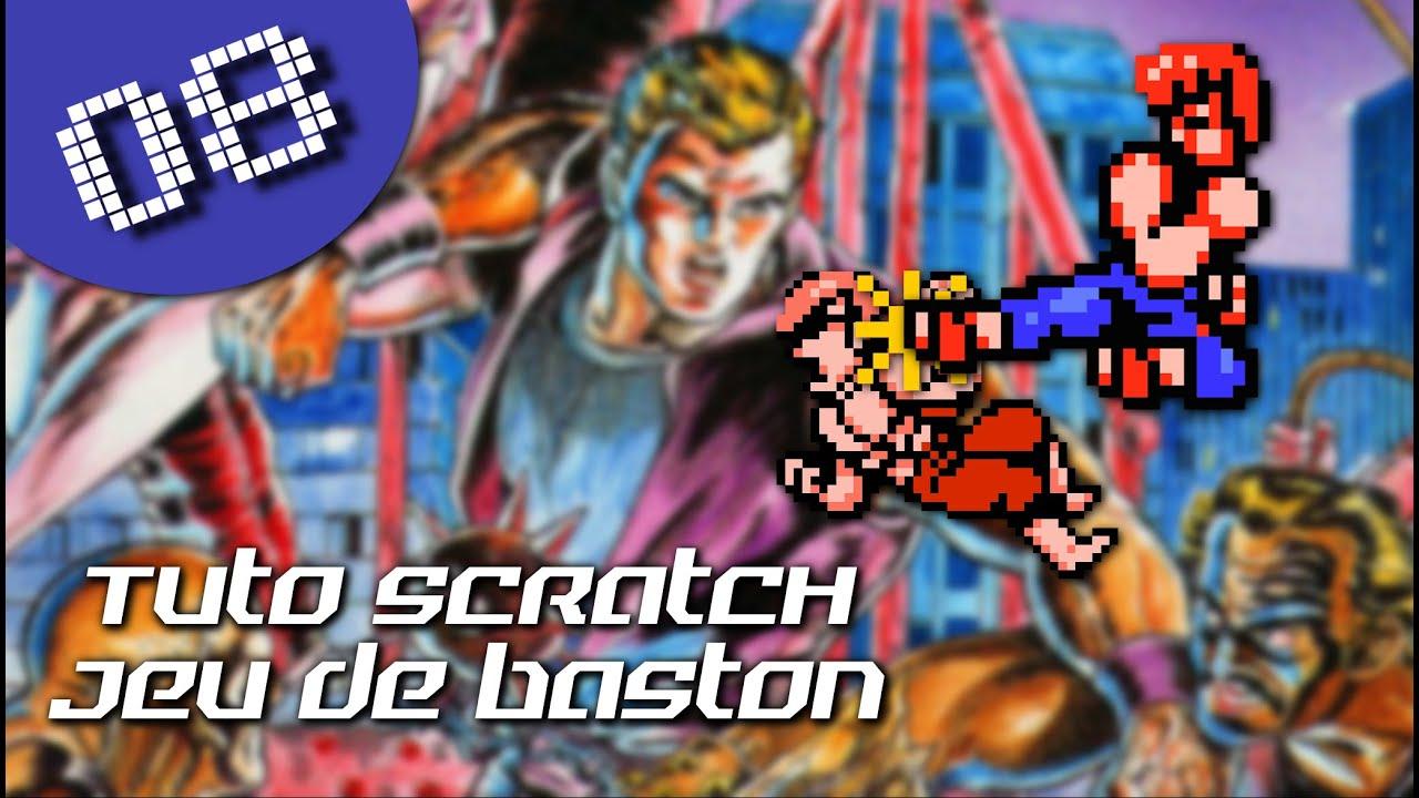 Tuto Scratch 9 : créer un jeu de combat (huitième partie) - YouTube