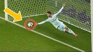 7 لاعبين انقذوا مرماهم من اهداف مؤكدة..!!