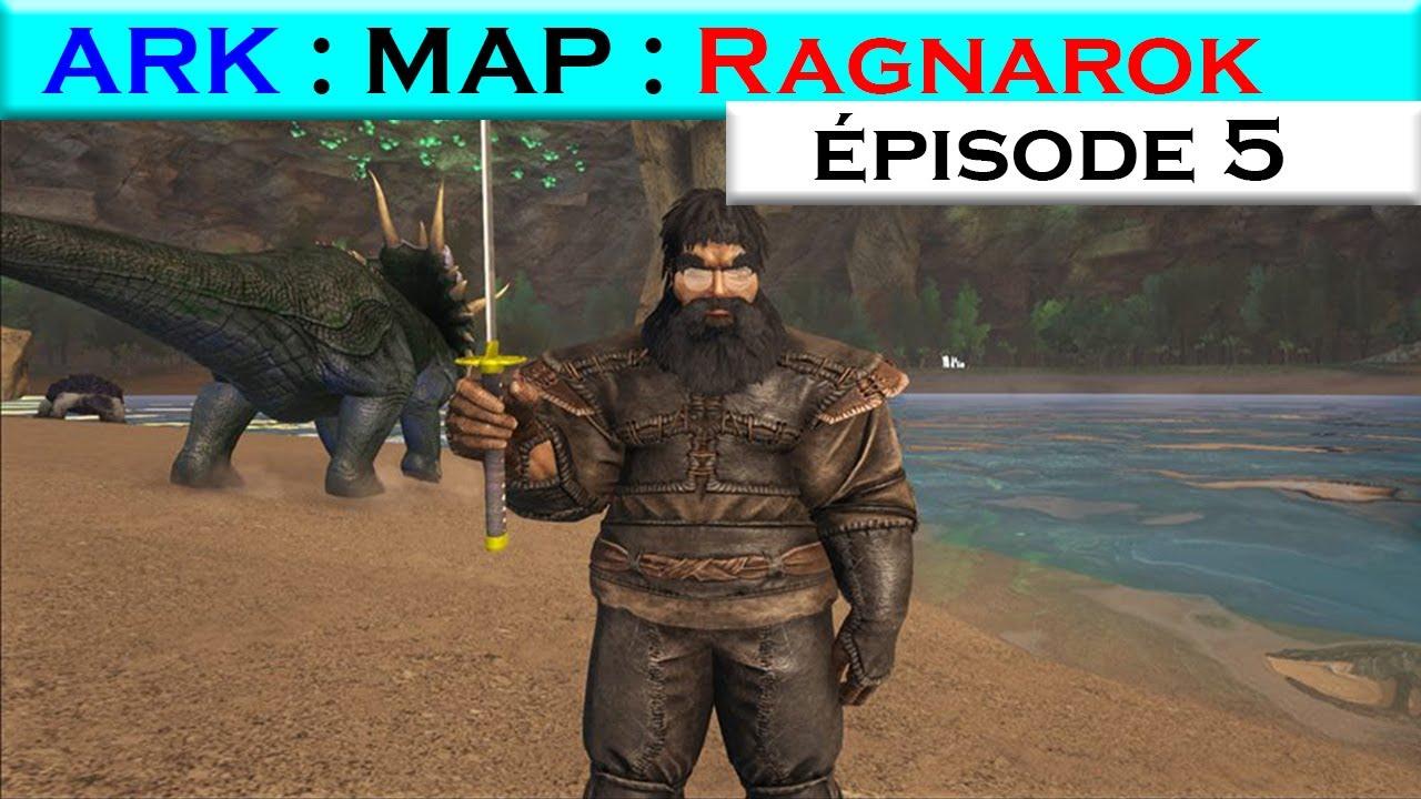 Ark Map Ragnarok Episode 5 Fleurs Rare Et Tentative Quetzal