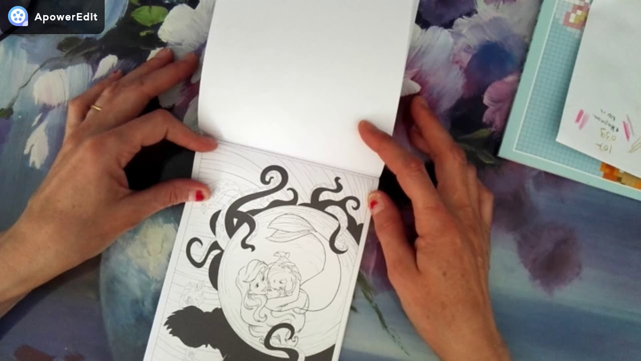 presentation du livre disney princesses 30 coloriages anti-stress