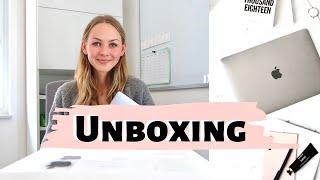 MacBook Pro 2020 13'' Unboxing + Schul Organisation am Laptop