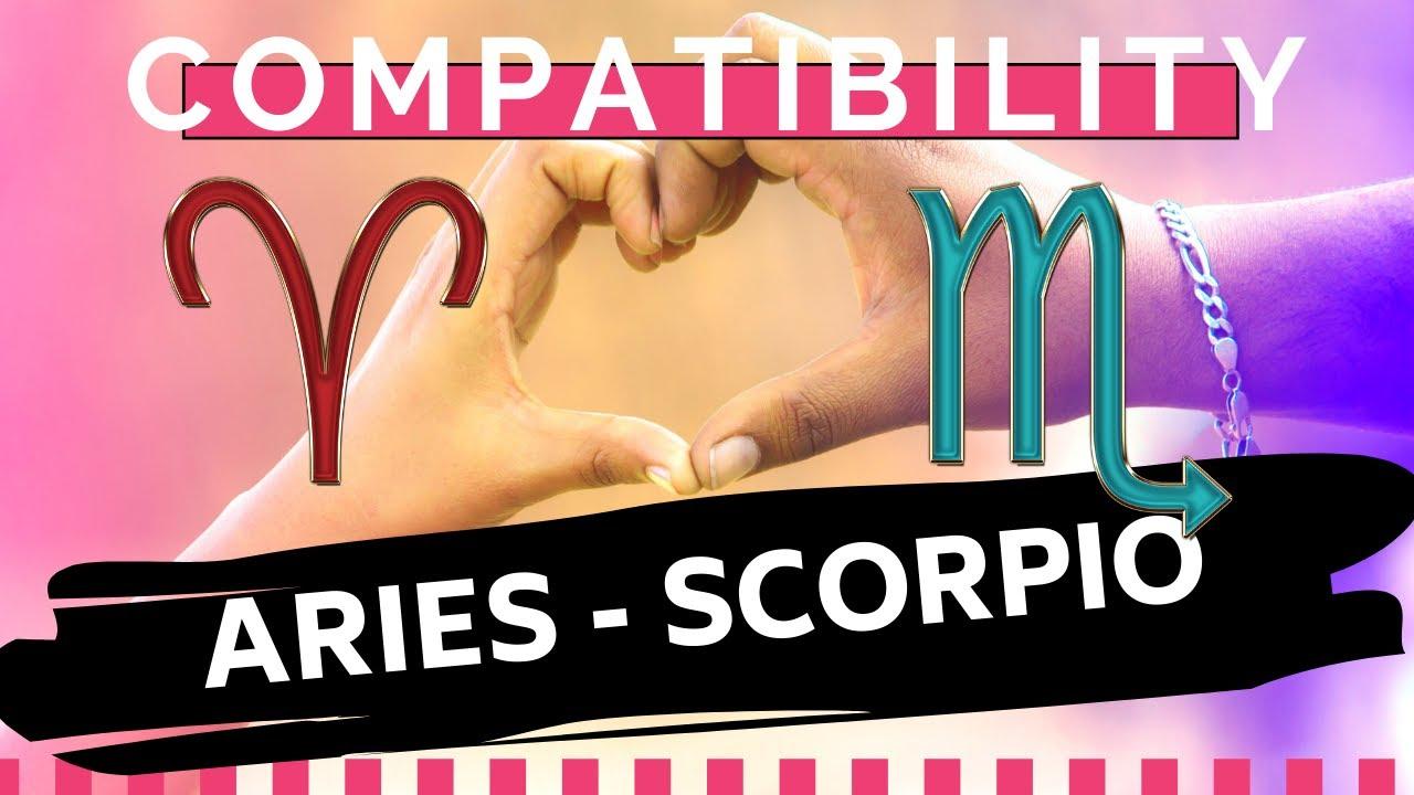 ARIES ♈ AND SCORPIO ♏ : LOVE COMPATIBILITY ️🔥 - YouTube