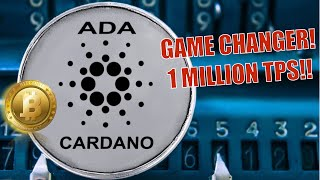 🟡Cardano GAME-CHANGER - 1 MILLION TPS = Global Domination? Peter Schiff ♥️Bitcoin BTC + Institutions