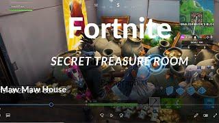Fortnite Secret Treasure Room
