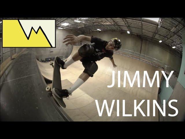 Jimmy Wilkins at Tony Hawks ramp (RAW FOOTAGE)