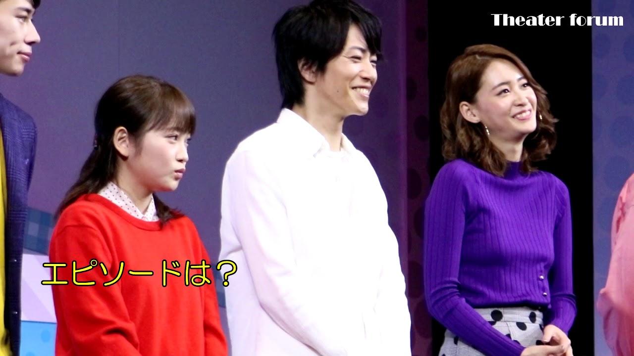 廣瀬智紀×川栄李奈 W主演舞台『カレフォン』初日前会見