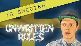 10 SWEDISH UNWRITTEN RULES