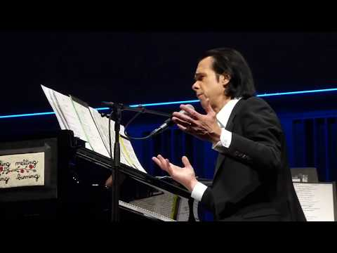 Nick Cave: Cosmic Dancer (T Rex cover) - Eindhoven, The Netherlands 2020-01-27 front row HD