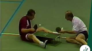 Insane Table Tennis Match at Qatar Open you have never seen || Funny Table Tennis match