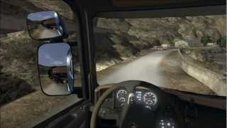Scania Truck Driving Simulator / Gameplay French Trucker FULL Options HD