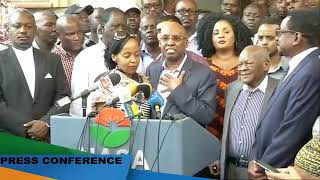 Jimmy Wanjigi EMOTIONALLY Speaks  Concerning the Police Raid on His House.
