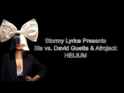 Sia, David Guetta, Afrojack - Helium  [lyric Video]