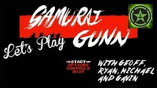 Let's Play - Samurai Gunn