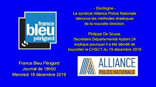 France Bleu Périgord Journal de 18h00 du 18 décembre 2019
