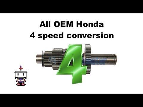 All OEM Honda 4 speed conversion (semi automatic engine)