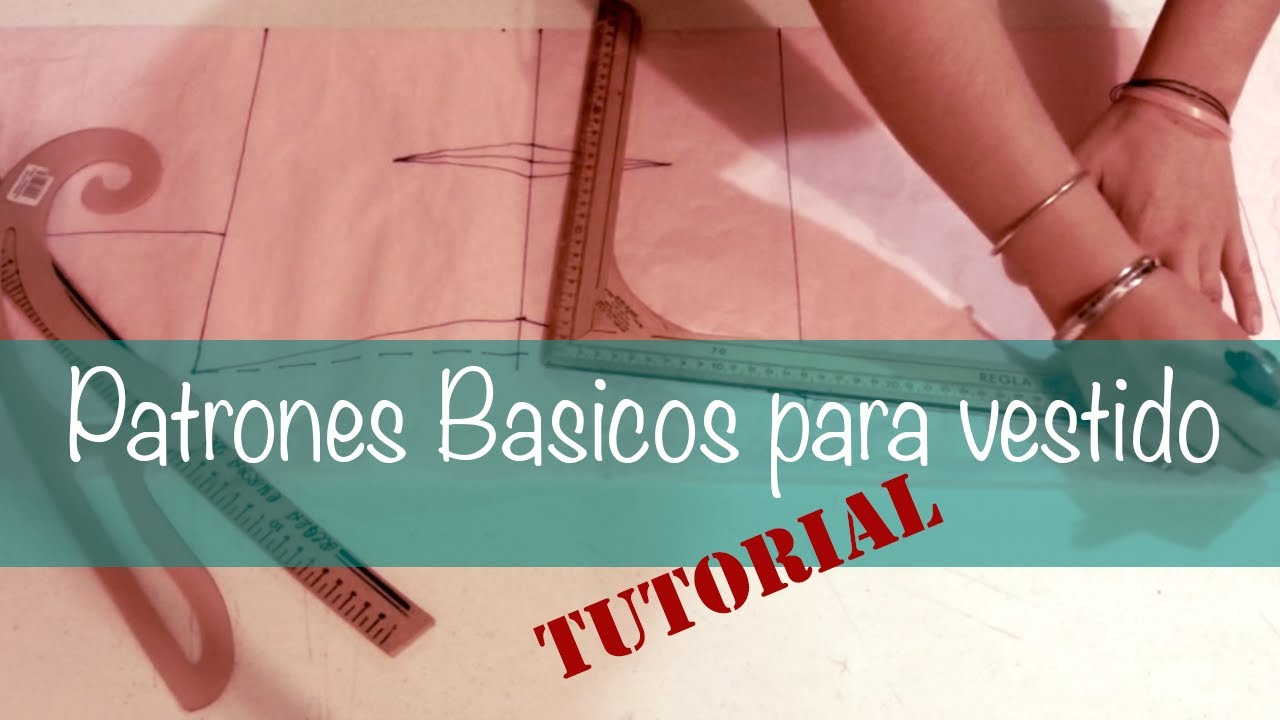 ♥ Patrones básicos para vestido ☁ - YouTube