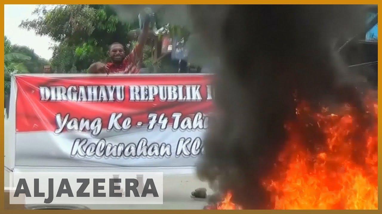 AlJazeera English:Indonesia's West Papua protests turn violent
