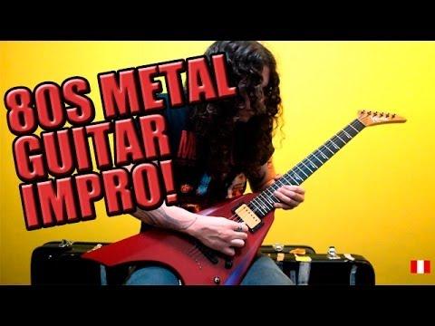 Charlie Parra - 80s metal guitar improvisation!!!