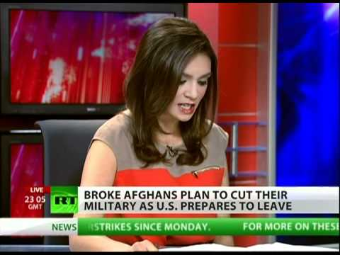 Afghan military to go broke after from US troop withdrawal?