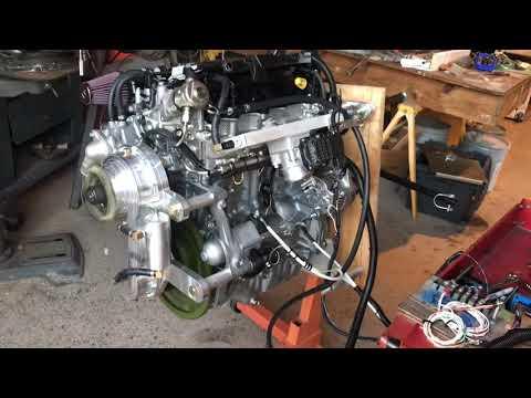 Viking 170 Honda derived aircraft engine run