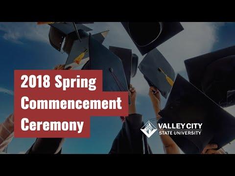 VCSU Spring Commencement 2018