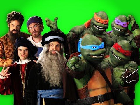 Artists vs Turtles. ERB Behind the Scenes