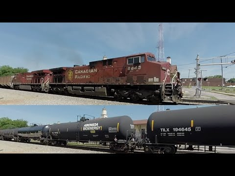Alcohol Unit Train with Canadian Pacific...