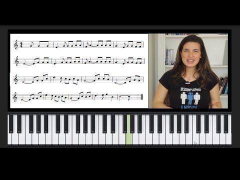 Como tocar qualquer música na partitura! (Teclado)